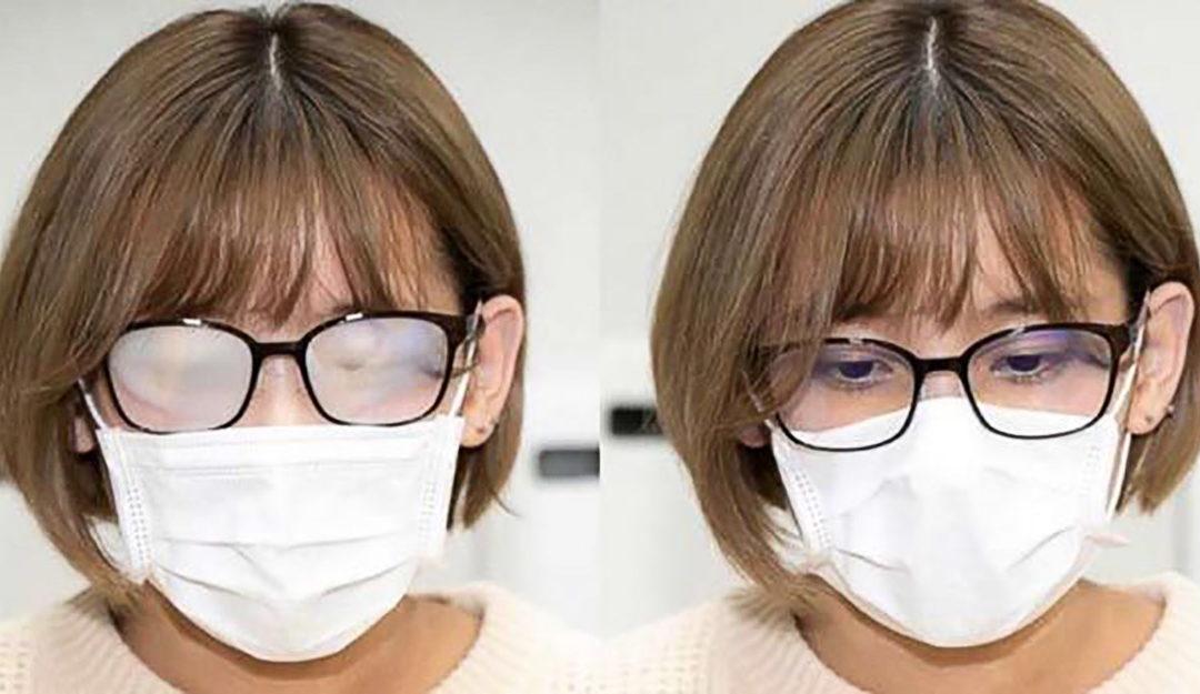 Occhiali appanati con la mascherina? Ecco le soluzioni